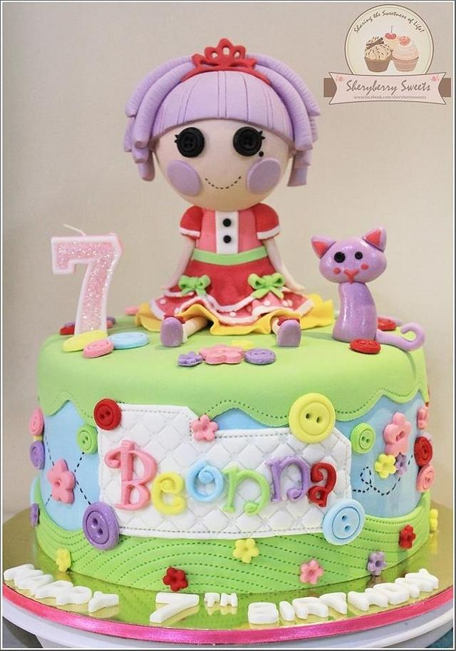 Groovy Jewel Sparkle Lalaloopsy Cake Cake By Sheryberrysweets Cakesdecor Funny Birthday Cards Online Overcheapnameinfo
