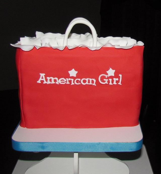American Girl Cupcake Tower
