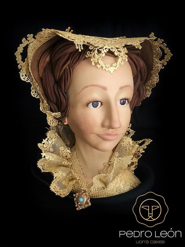 Marie Stuart Reine d'Ecosse, 1542-1587 for  THE ROYAL An international Cake Challenge