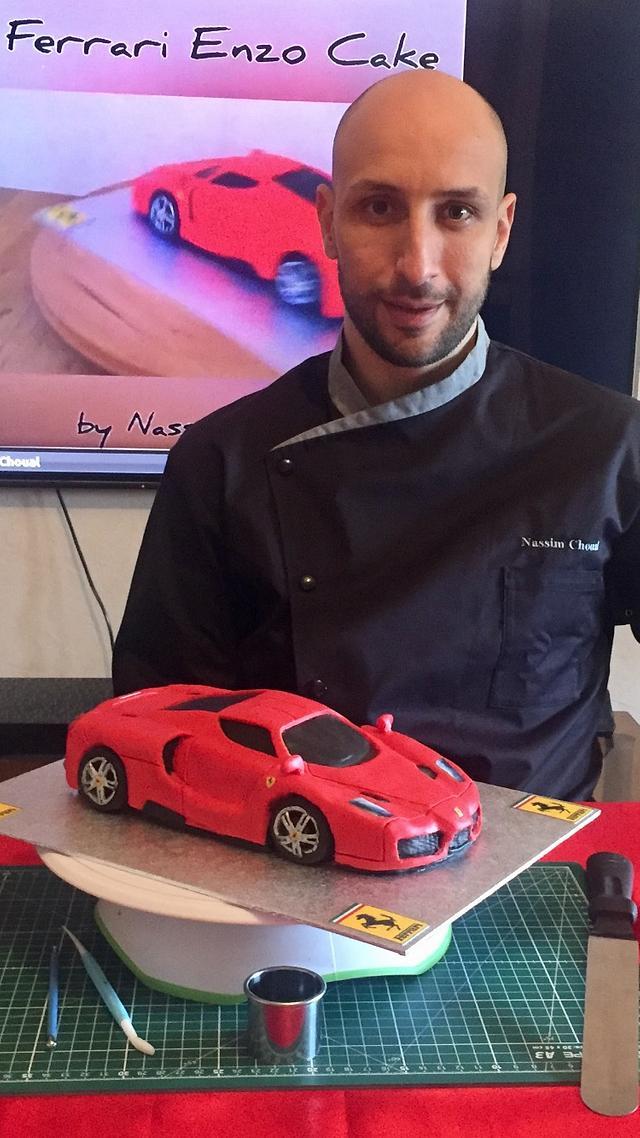 Ferrari Enzo Cake