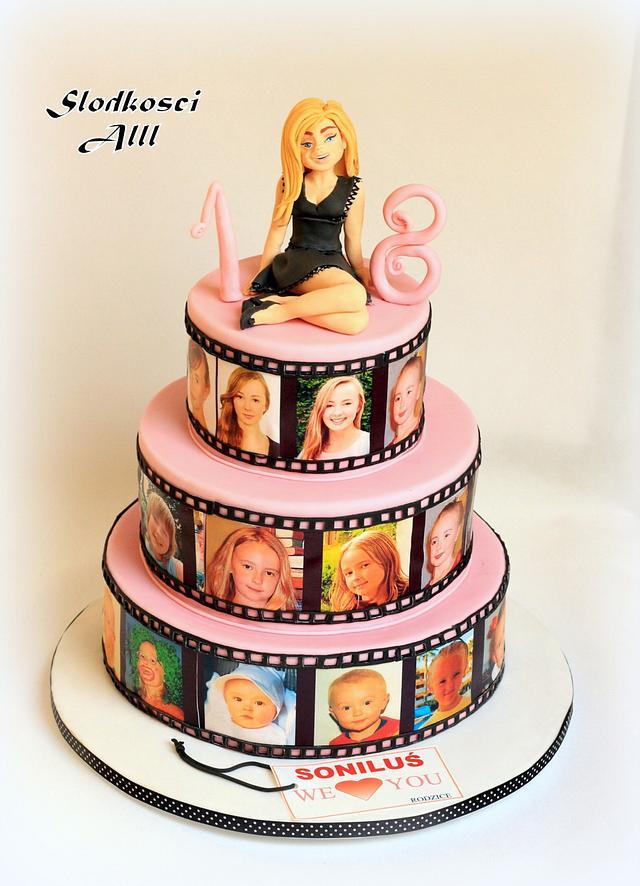 Stupendous 18Th Birthday Cake Cake By Alll Cakesdecor Funny Birthday Cards Online Alyptdamsfinfo