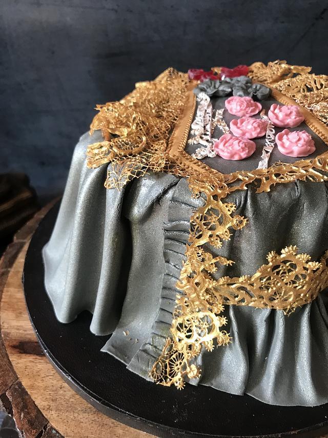 Vintage dress era-1837