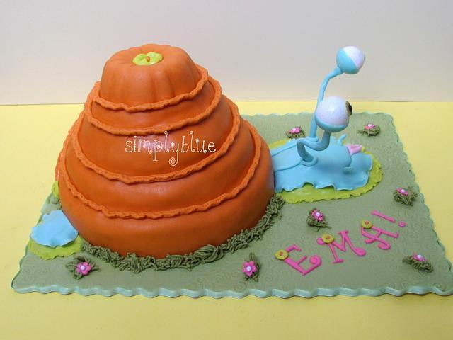 Snail cake