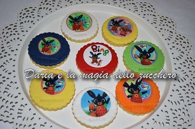 Bing Bunny cookies