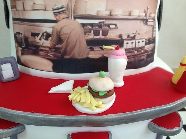 60's Rock n Roll Diner