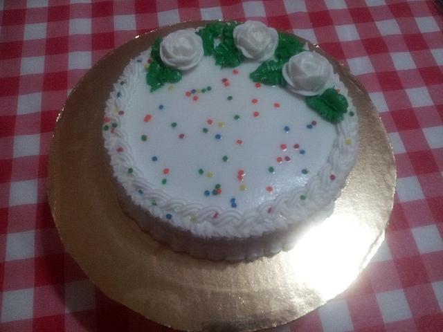 almond buttercream cake