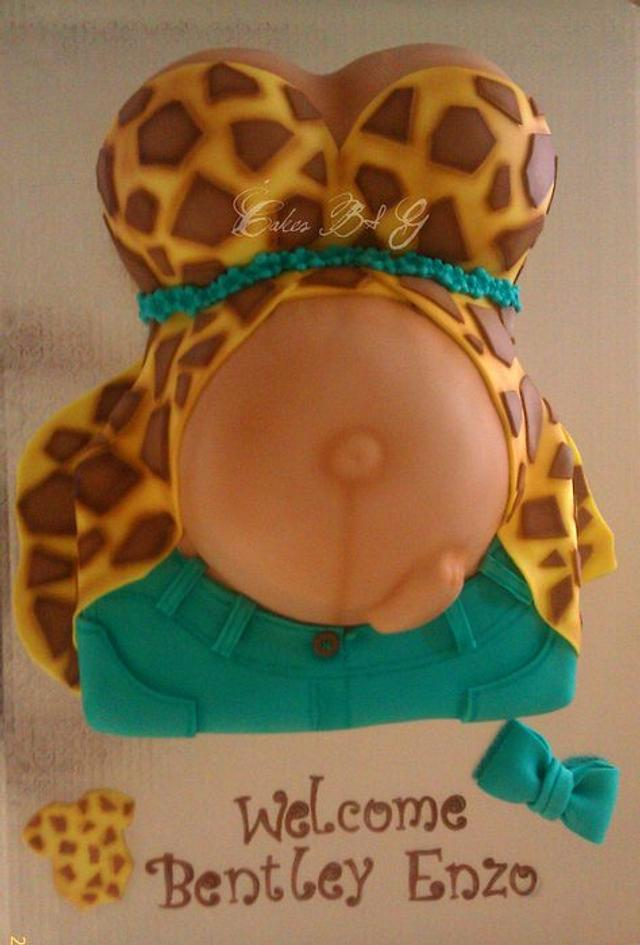 My First Belly Cake