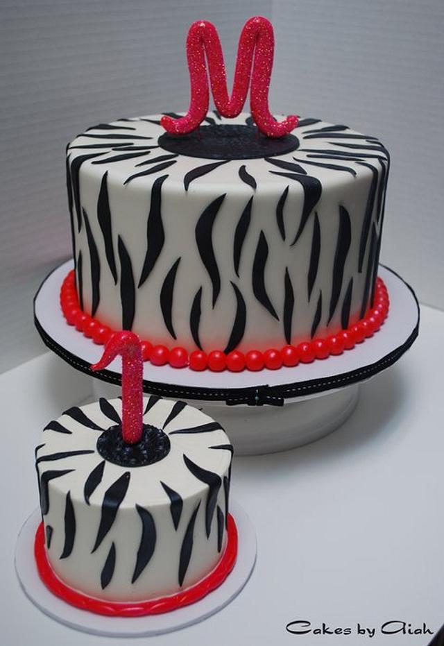 M's zebra cake