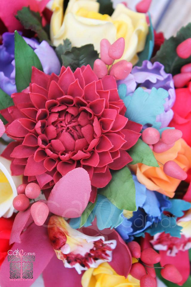 Edible Floral Bouquet