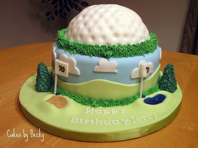 Golfer's Birthday