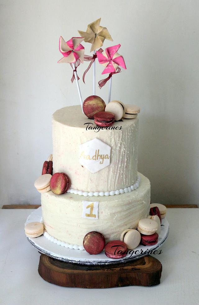 Pinwheels and Macarons