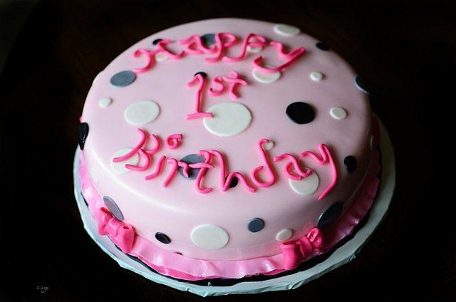 First Birthday Cake Set
