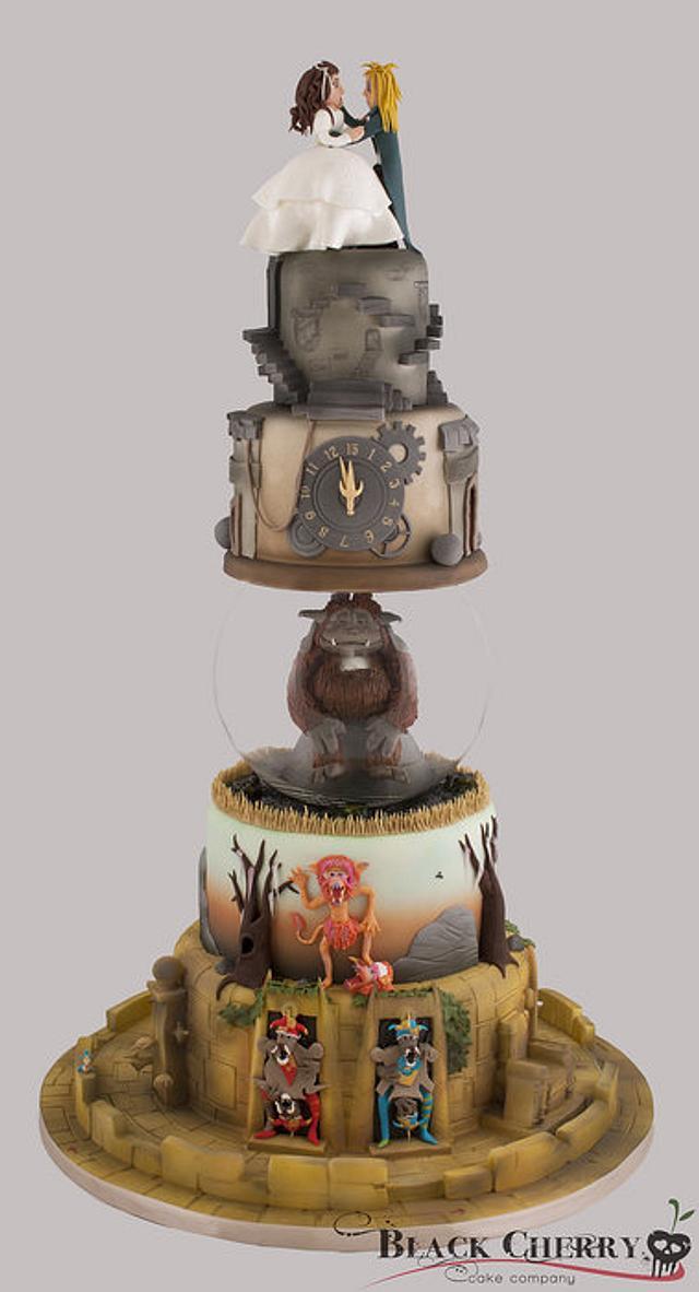 Labyrinth Wedding Cake