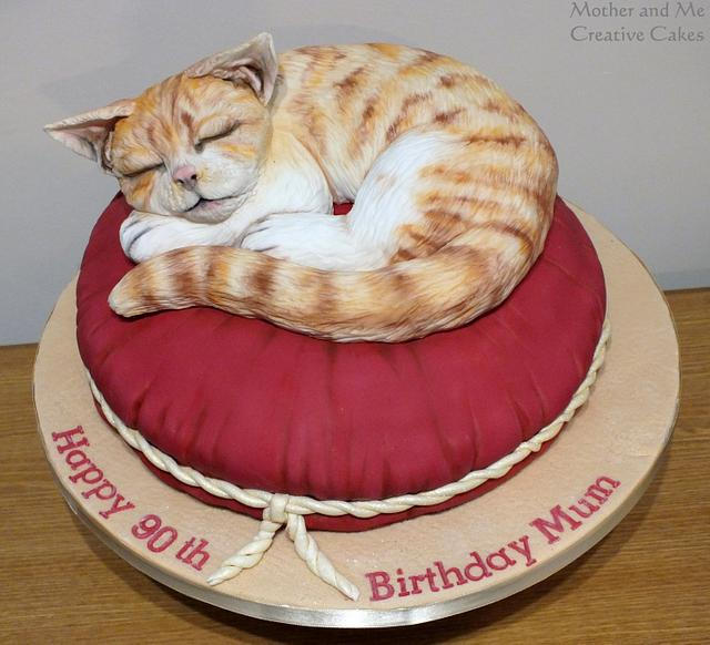 It's a Cat's Life ....Cake