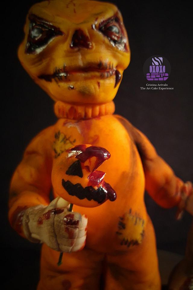 Sam- Creepy World - Cake Art Collaboration