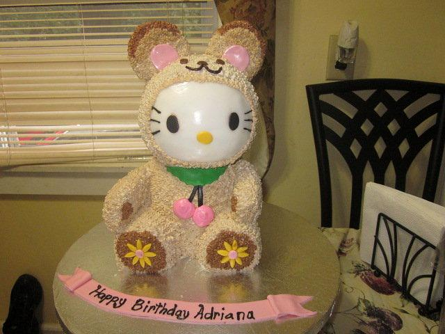 Hello Kitty in Bear Costume