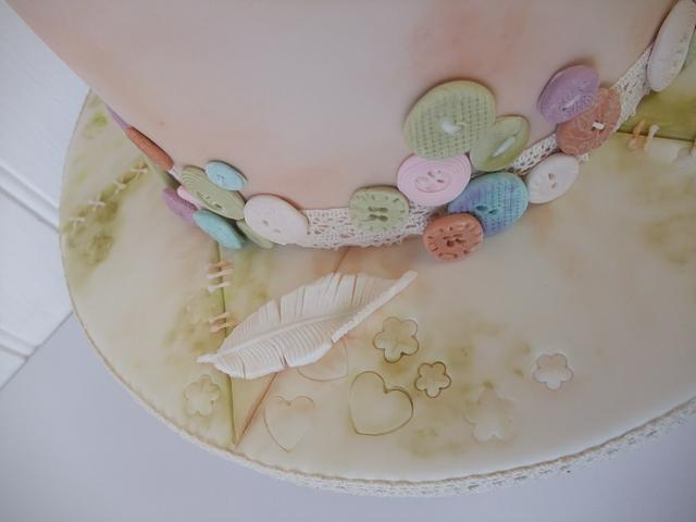 Vintage Teddy Cake