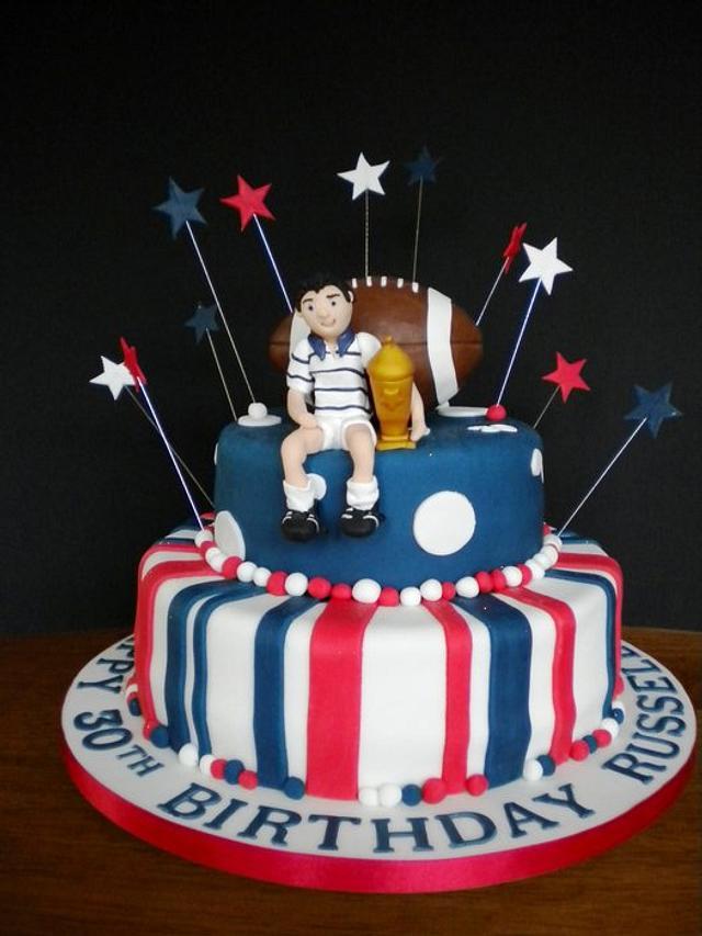 Rugby fanatic's birthday!
