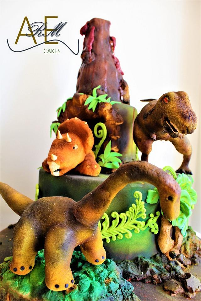 Dinosaurios Cake By Arem Cakes Cakesdecor El valle de los dinosaurios. dinosaurios cake by arem cakes