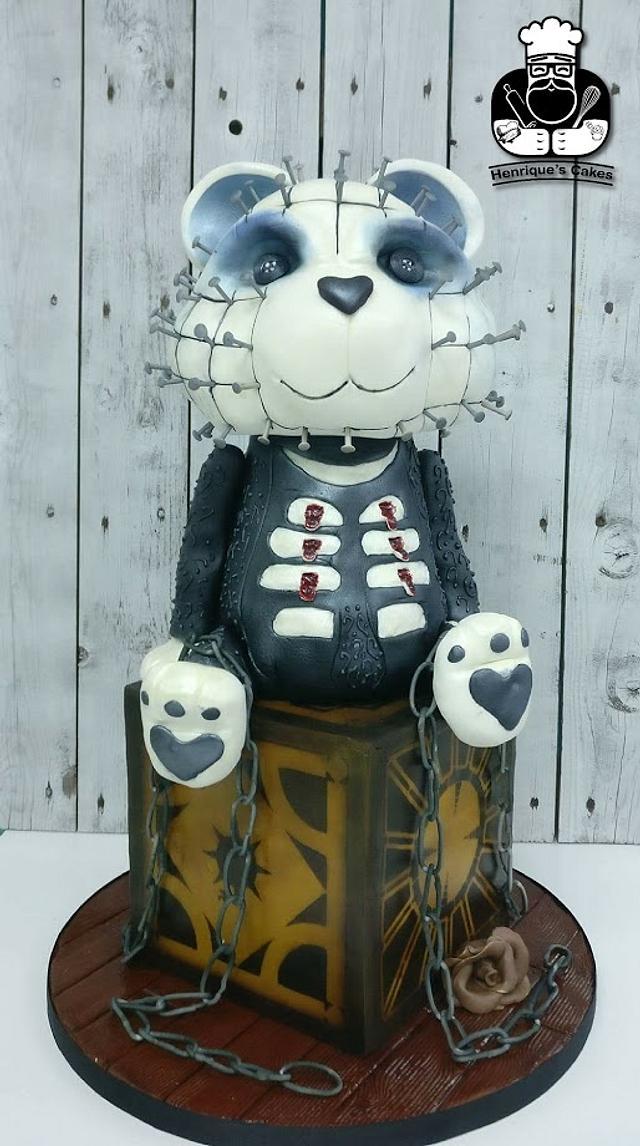 Hellraiser pinhead bear
