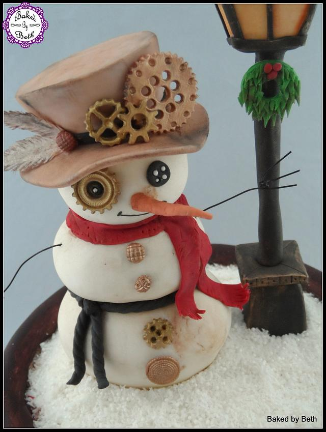 Cuties Little Christmas Collaboration :Steampunk Snow globe