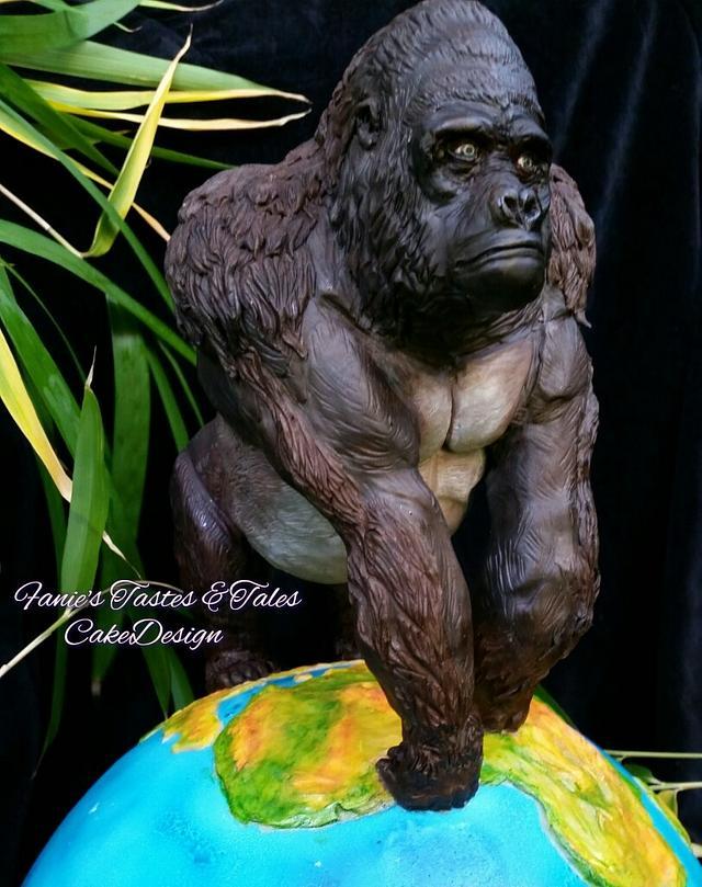"""Animal Rights collaboration Gorilla """"Silverback"""""""