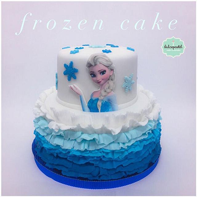 Torta de Frozen en Medellín