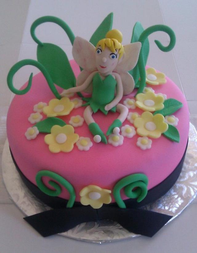 Fairy Cake for Bridal Shower