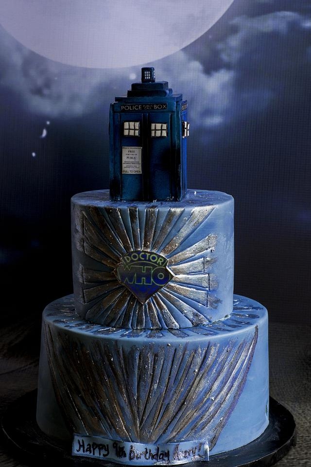 Awe Inspiring Dr Who Birthday Cake Cake By Piece Ocake Cakesdecor Funny Birthday Cards Online Inifofree Goldxyz