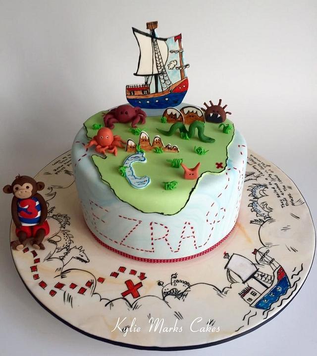 Monsters of Tasmania/Pirates cake