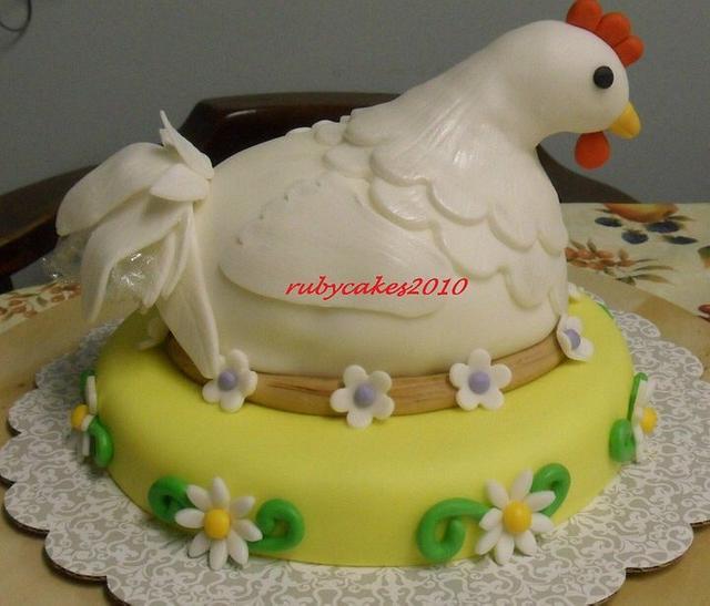 3d animal cake