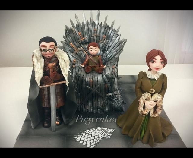 Winter is coming wedding cake!!!