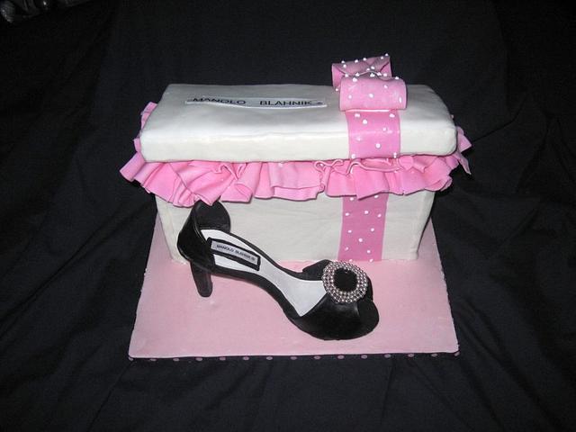 Shoe Box Cake