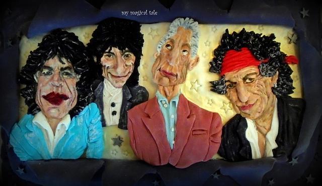 Rolling Stones caricature!