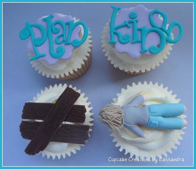 Planking Cupcakes