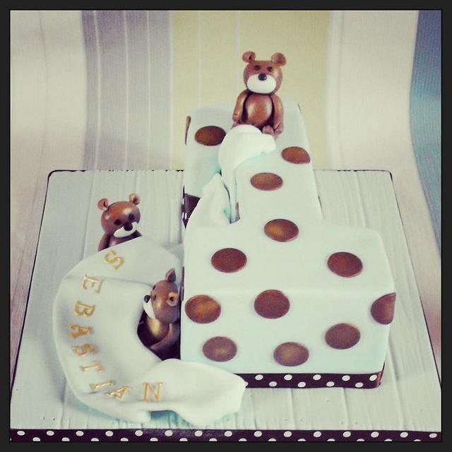 Phenomenal Baby Boys 1St Birthday Cake Cake By Dee Cakesdecor Personalised Birthday Cards Beptaeletsinfo