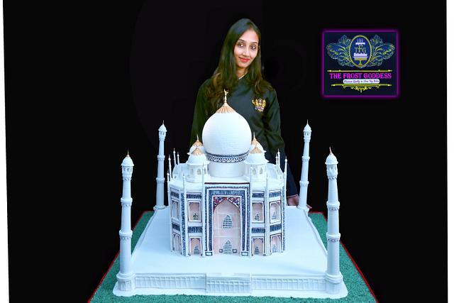 The taj mahal cake