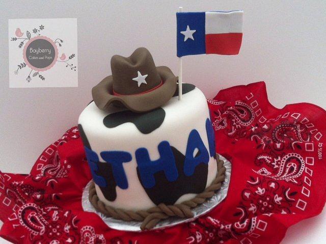 Texas cowboy cake
