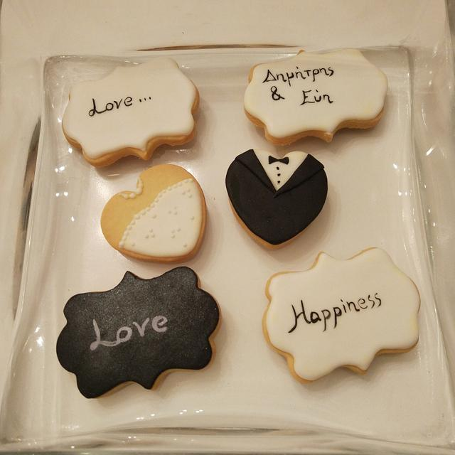 Weddings cookies