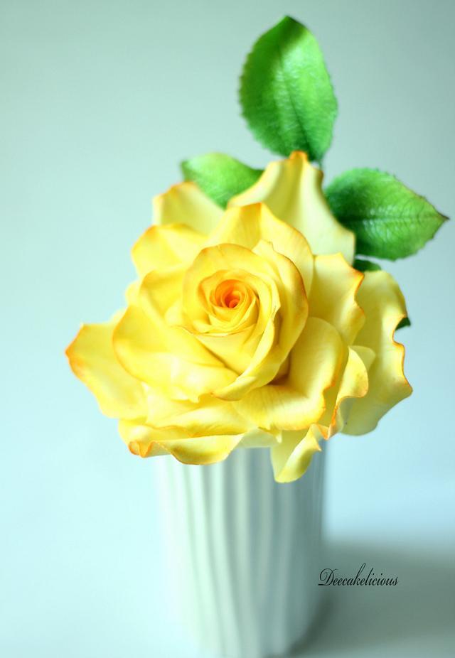 Yellow rose!