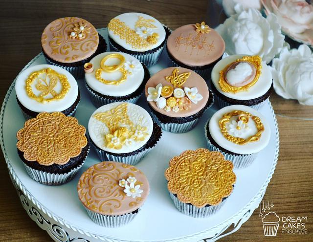 Elegante cupcakes!!!