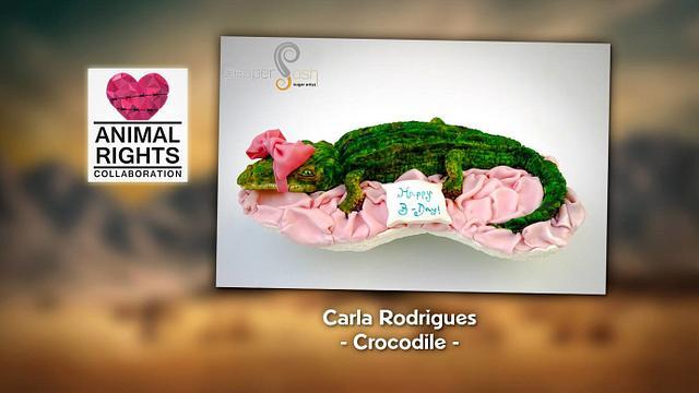 Crocodile @Animal Rights Collaboration