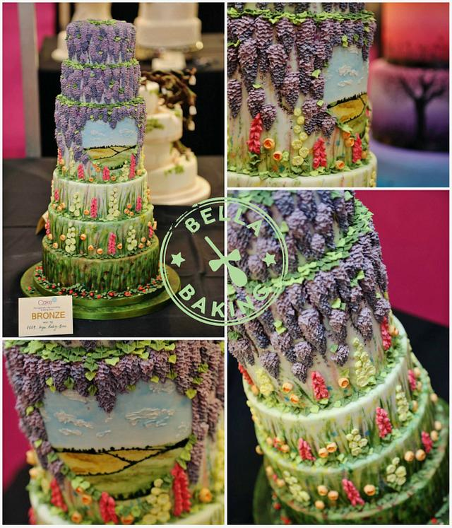 Wisteria Garden Cake