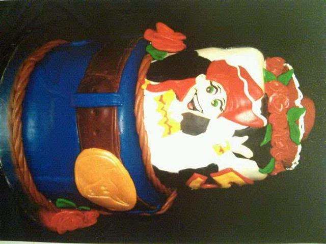 Toy Story Jessy Cake