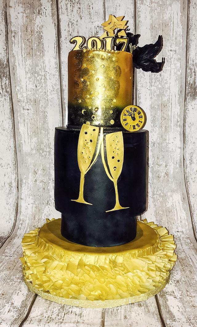 Cake new year