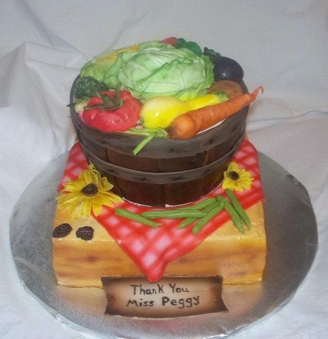 Farmers Market Cake