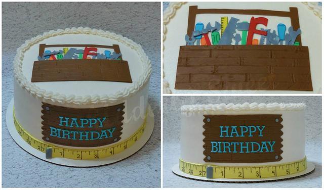Tool Man Cake