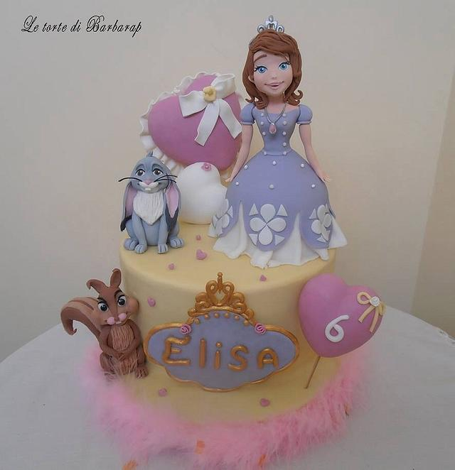Torta principessa Sofia - Cake by Barbara Pecoraro ...