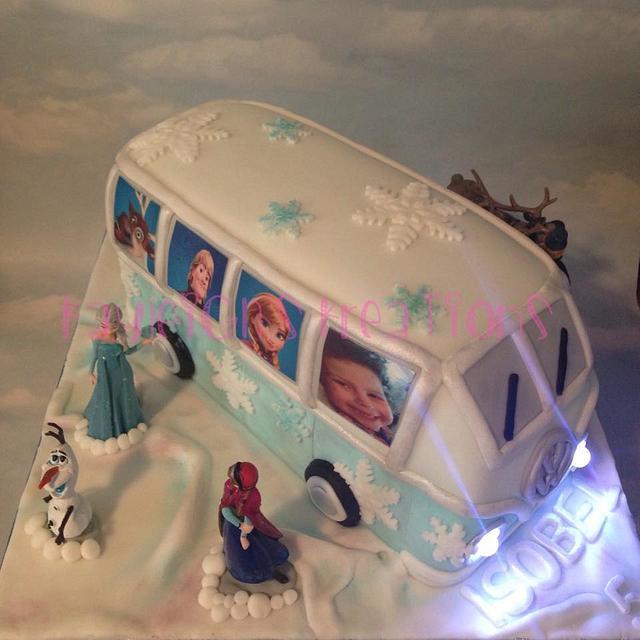 Frozen Campervan