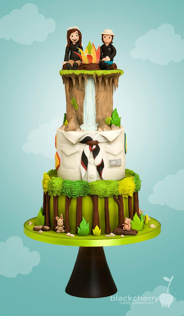 Scout Leaders Wedding Cake